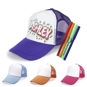 Colour-In Baseball Cap