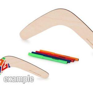 Wooden Boomerang Set