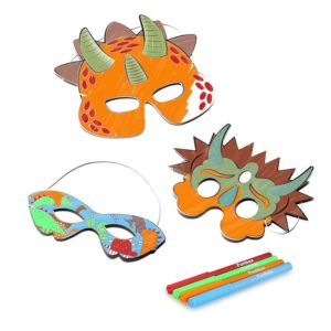 DIY Dinosaur Masks
