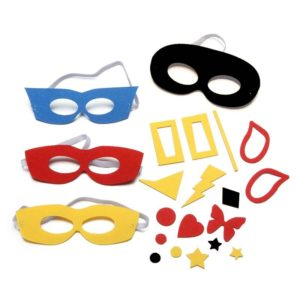 DIY Super Hero Felt Mask Kit