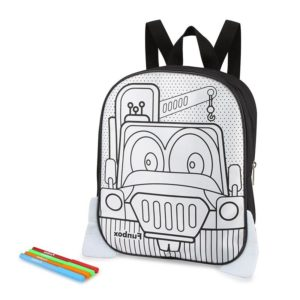 Truck Colour-In Backpack