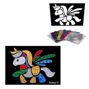 Unicorn Foil Art Activity Pack